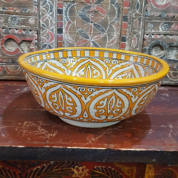 Lavandino in Ceramica Dipinta a Mano Marocco | LT35-8
