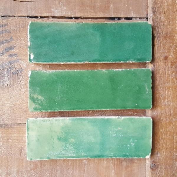 Zellige Bejmat Marocco | Verde Smeraldo