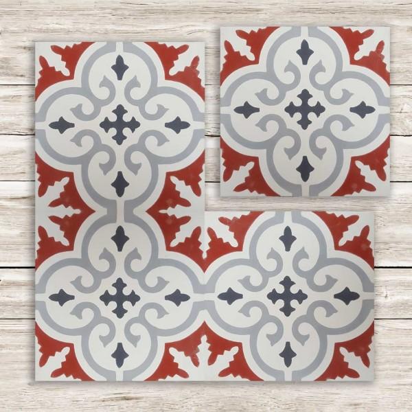 Cementina Decorata Marocco | FEZ-08