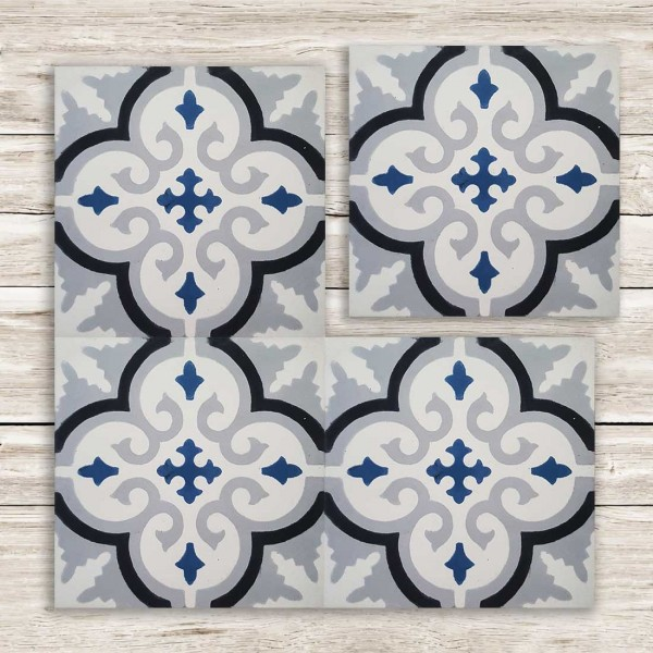Cementina Decorata Marocco | FEZ-06