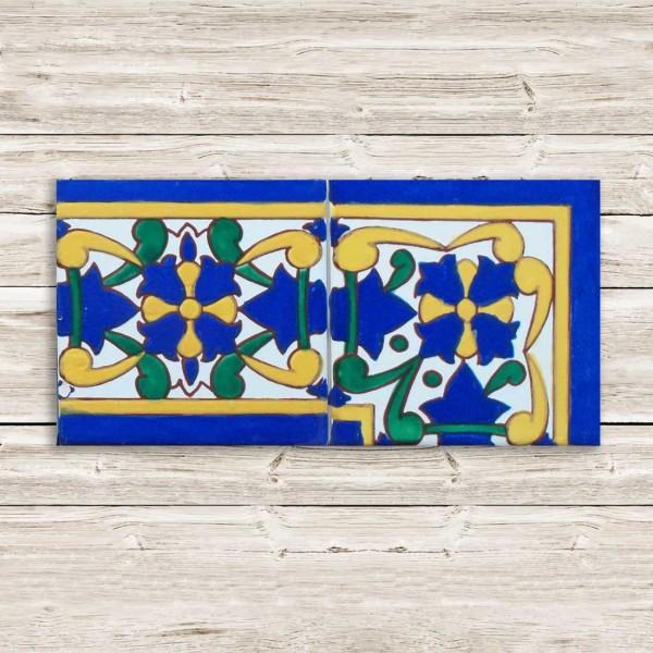 Maiolica Decorata Tunisia | BORDO-03