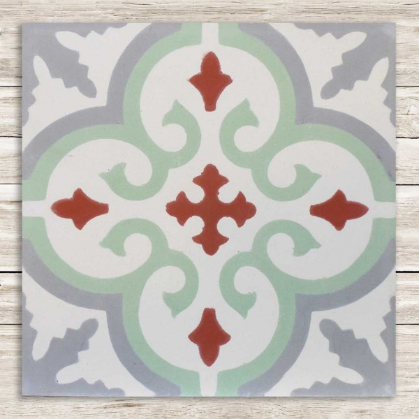 Cementina Decorata Marocco | FEZ-09