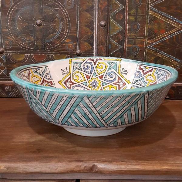 Lavandino in Ceramica Dipinta a Mano Marocco | LT40-3